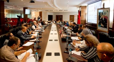 تغطية القناة الأولى لليوم الدراسي حول القانون التنظيمي للمجلس الوطني للغات